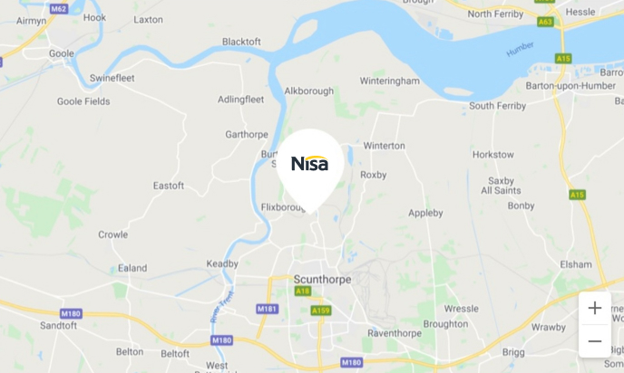 Nisa Location Map