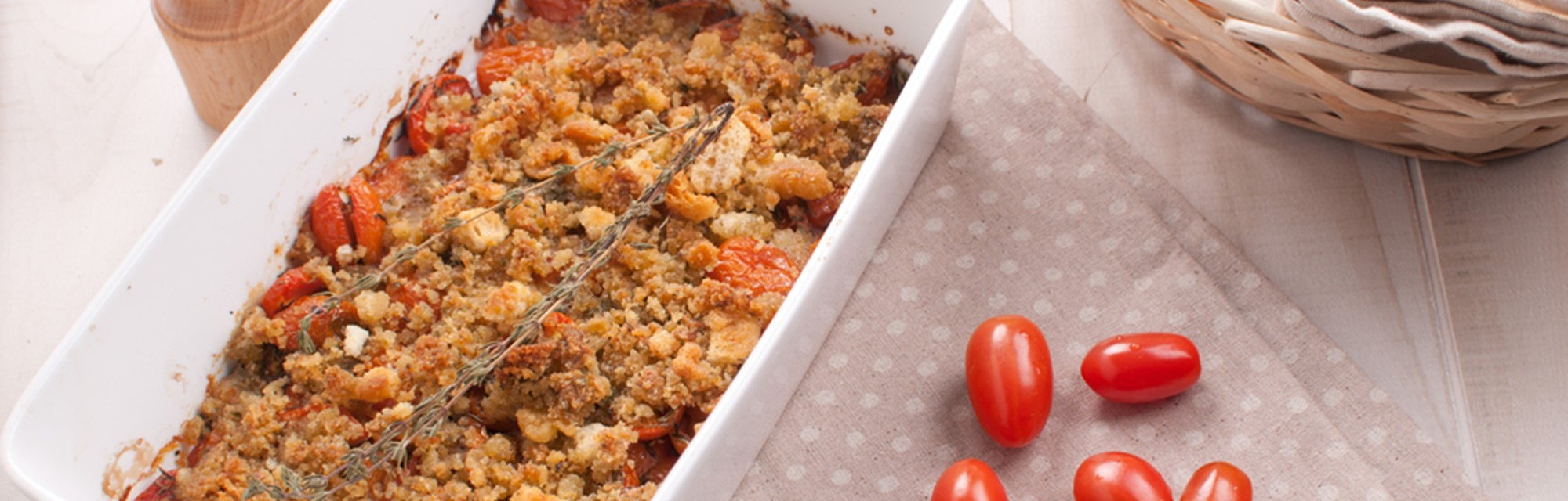 Crunchy baked tomato & onions - Crunchy Baked