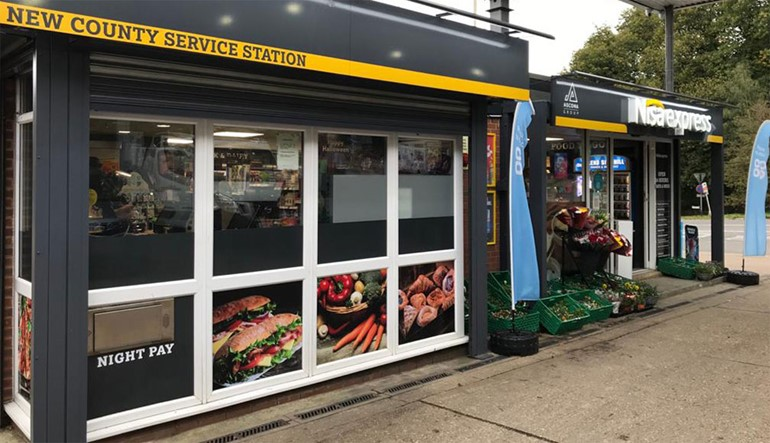Fast-growing forecourt retailers flaunt Express format store front and fascia
