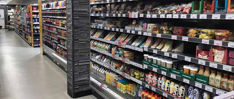 Sales storm ahead in Driffield stocked chilled fridges
