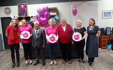 Nisa's charity Making a Difference for specialist playgroup charity