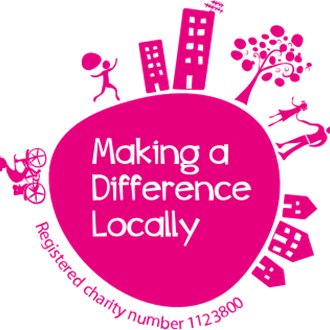 <h3>Making a Difference Locally</h3> - Logo Madl
