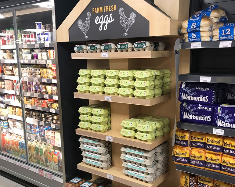 Sales storm ahead in Driffield fresh eggs