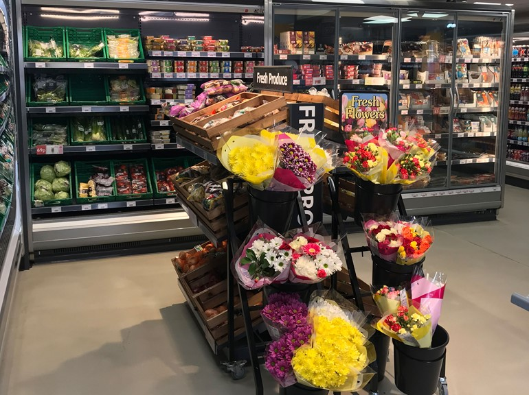 Sales storm ahead in Driffield flower display