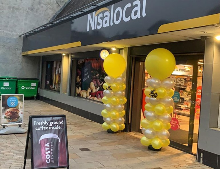 New store opens following Renfrew refurbishment store front