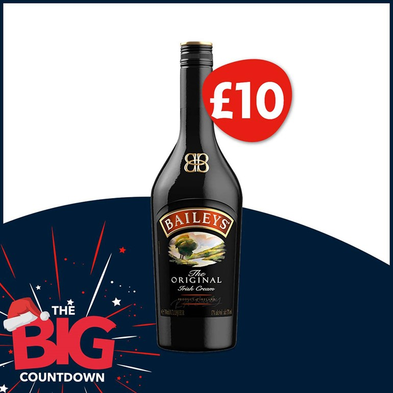 The Big Countdown continues week 10 deal Baileys