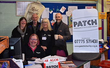 Patch charity receives a boost from Bluestone