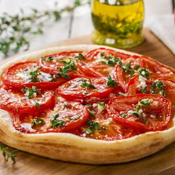 Recipe - Tomato Onion Tart