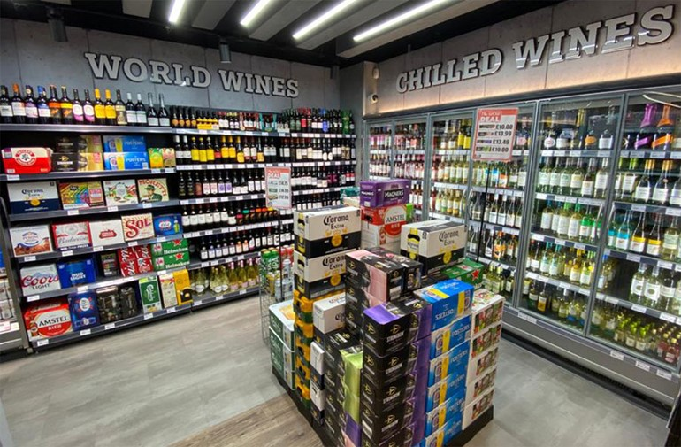 Winning in Watford beers and spirits in store