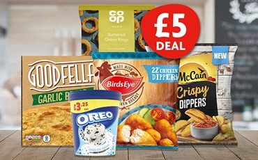 Great value deals to retain new shoppers Fiver Deal Listing