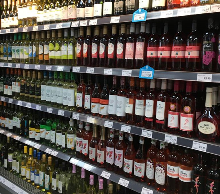 Extended Bolton store has the kerb appeal chilled wines and roses