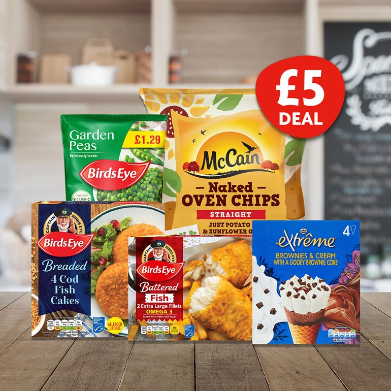 Nisa's latest £5 freezer filling deal is here