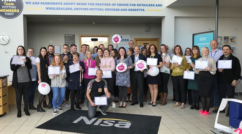 Nisa colleagues raise over £16,000 for charity in workplace fitness challenge