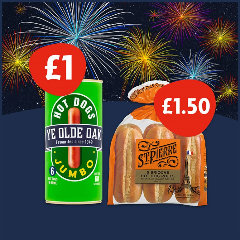 Firecracker deals available to Nisa retailers this Bonfire Night