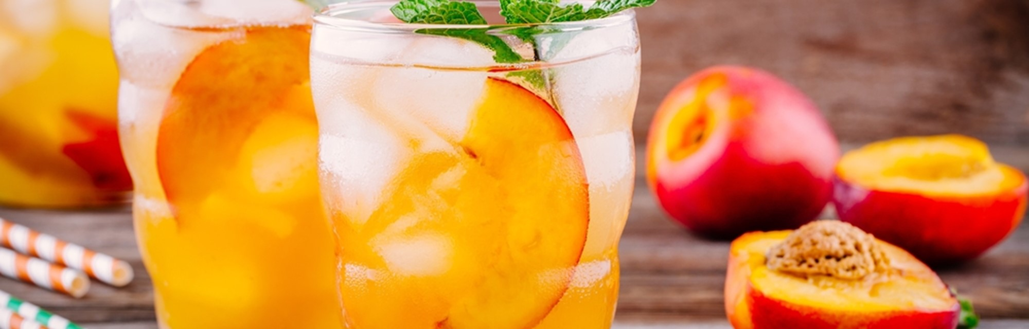 Perfect peach punch for peach month