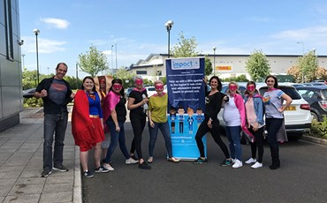 Nisa colleagues raise over £4,000 for new mental health unit