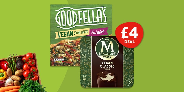 Healthy eating habits helped by Nisa Veganuary Deal