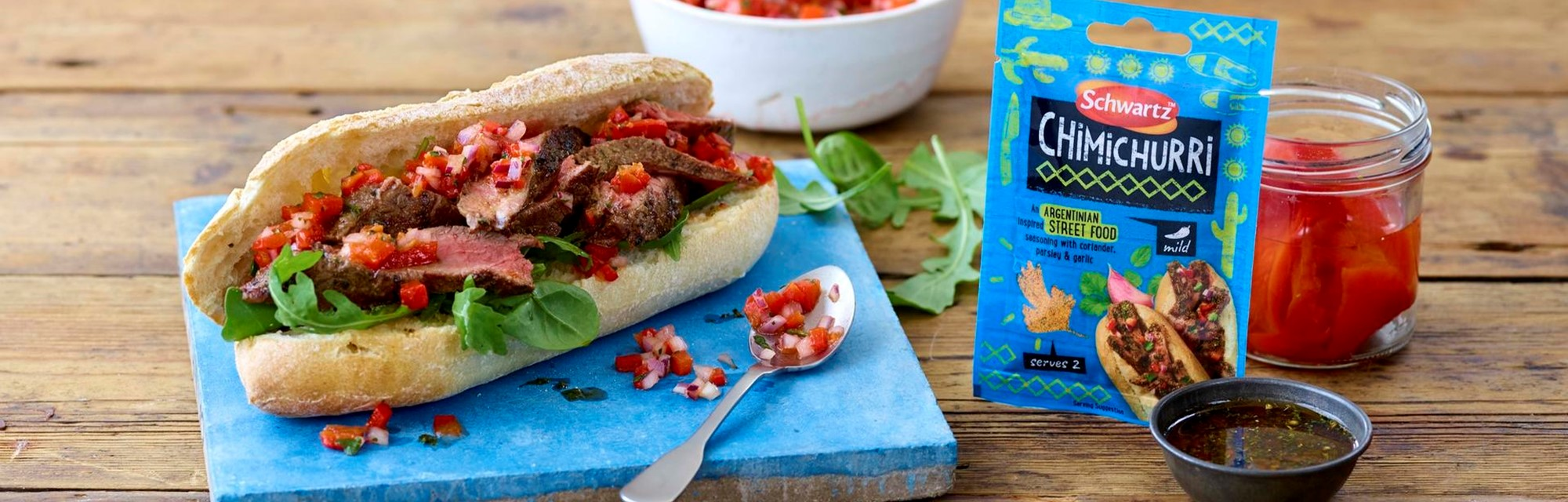 Header - Chimichurri Steak Snadwich