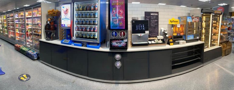 Ten-day transformation in Bolton food and drink to go machines
