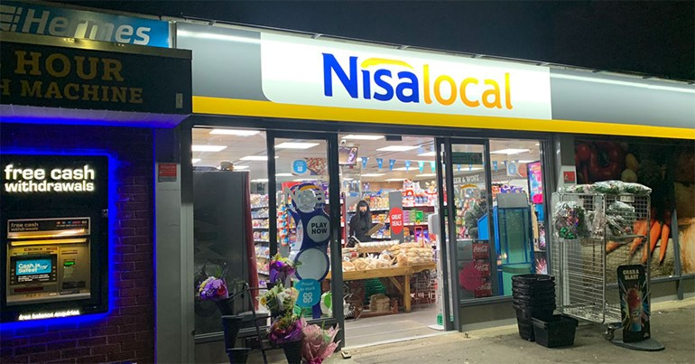 Looking good in Leicestershire front of store and Nisa fascia