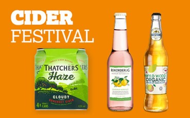 Nisa retailers set for rosy sales Cider Festival