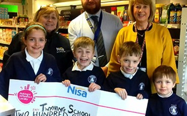 News - Twyning School Donation 2018